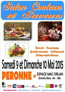 Affiche Salon couleurs et saveurs 2015